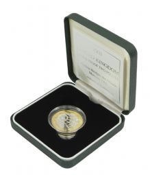 2001 Silver Proof £2 Marconi for sale